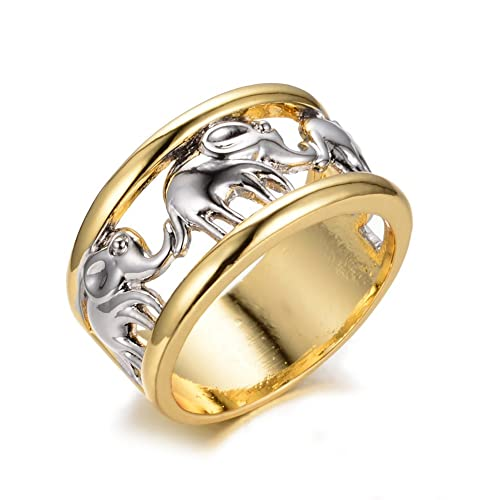 Elephant Ring Symbol of Strength Patience and Wisdom