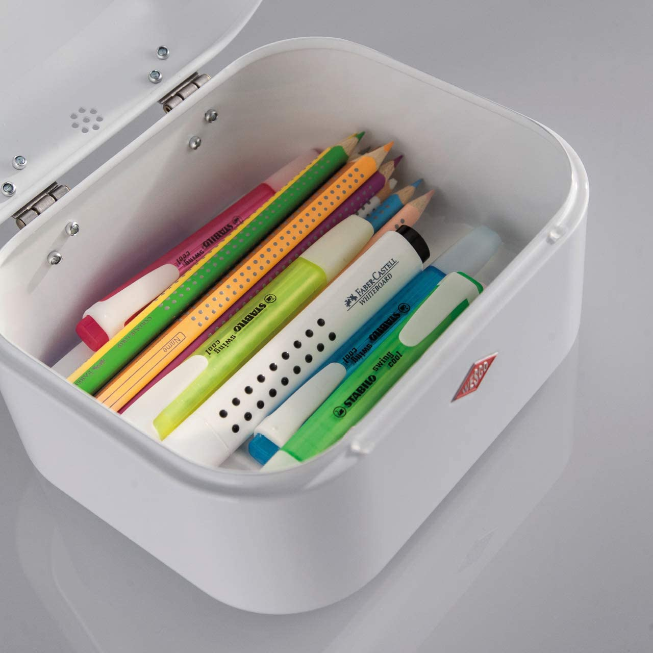 WESCO Mini Grandy Storage Box 18/x 17/x 12 cm Black Standard