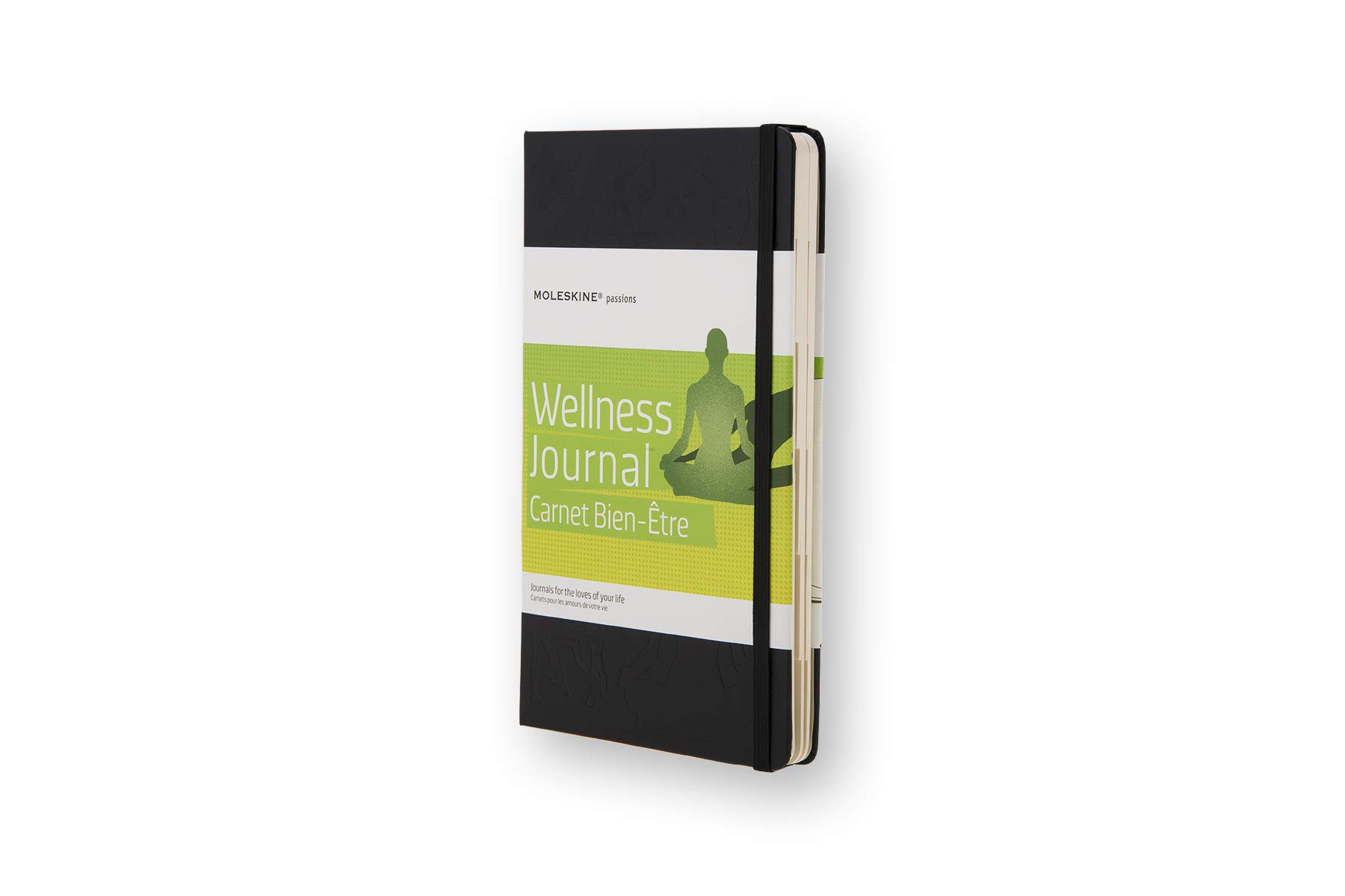 Moleskine Passion Journal Hard Cover Notebook, Wellness,...