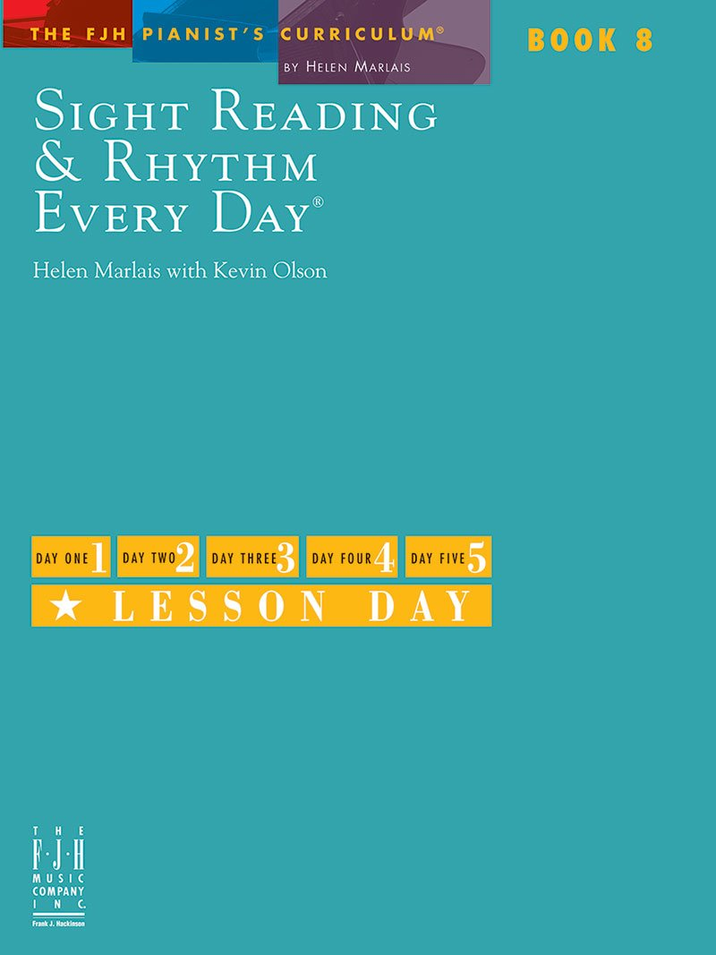 Download Sight Reading and Rhythm Every Day, Book 8 pdf