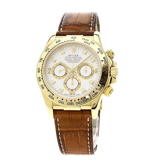 outlet store d7258 d64bb Amazon   [ロレックス]デイトナ 8Pダイヤモンド 16518G 腕時計 ...