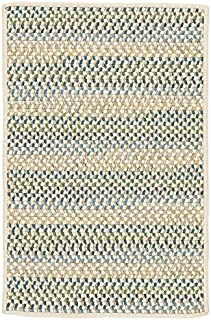 product image for Chapman Wool Rugs, 8' x 8' Square, Peacock Blue Natural