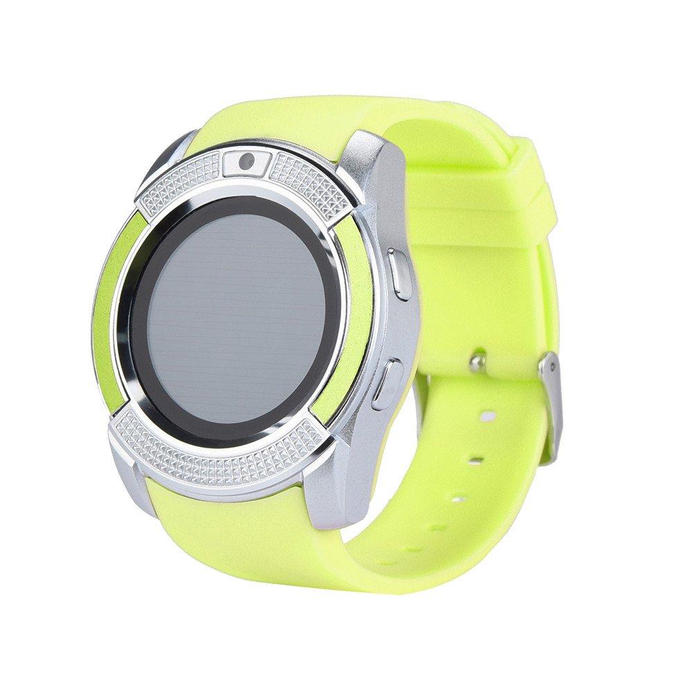 Amazon.com: Star_wuvi Smart Wrist Watch GSM 2G SIM Phone ...