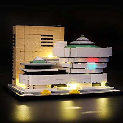 LIGHTAILING Light Set for (Architecture Solomon R. Guggenheim Museum) Building Blocks Model - Led Light kit Compatible with Lego 21035(NOT Included The Model): Toys & Games