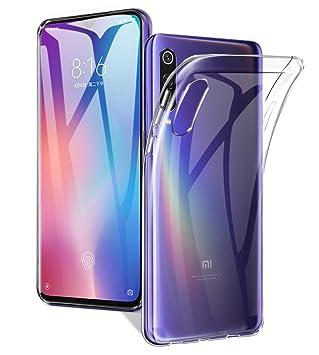 A-VIDET Funda para Teléfono Xiaomi Mi 9 SE,Ultra Delgado Carcasa Anti-rasguños Silicona TPU Cover Protectora Caso para Xiaomi Mi 9 SE (Transparente)