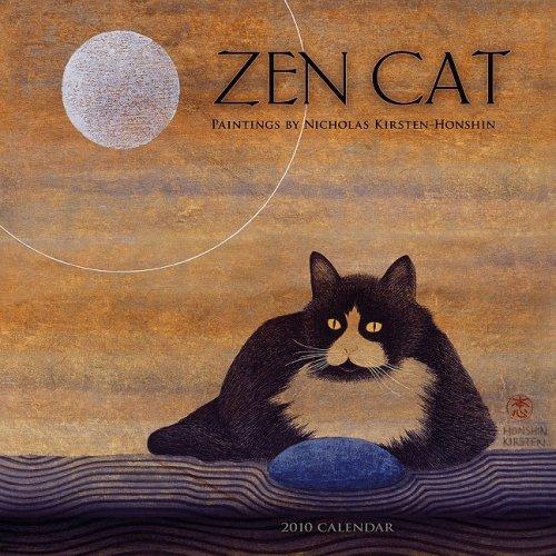 Zen Cat 2010 Wall Calendar