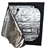 SL Hydroponics Grow Tents 48x24x60-Inch, for Indoor Plant Growing and Garden,600D Oxford Cloth,Metal Rods with Connectors