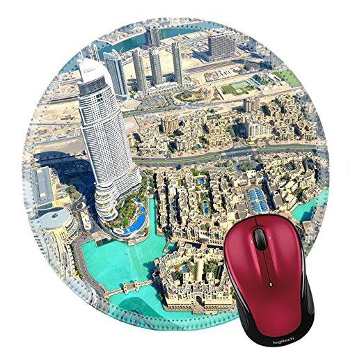 Liili Round Mouse Pad Natural Rubber Mousepad Dubai Mall View Photo - Gulf Mall View