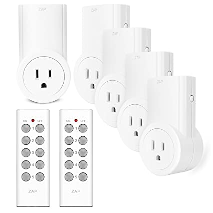 etekcity wireless remote control plug electrical outlet switch for household appliances smart outlet wireless remote