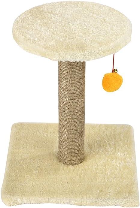 Leshp – Estructura rascador para gatos con pelota de juguete (M11 ...