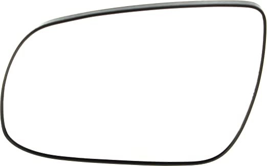Mirror Glass For 10-11 Hyundai Accent Passenger Side Replacement