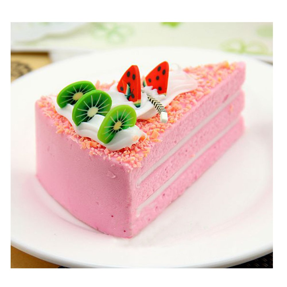xiduobao 6pcs falsos colores simulaci/ón para tartas para ni/ños juguete casa cocina decoraci/ón para fiesta mercado pantalla fotograf/ía Props