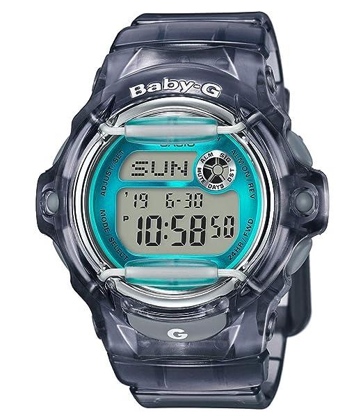 Casio Reloj Digital para Mujer de Cuarzo con Correa en Resina BG-169R-8BER