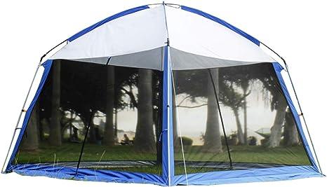 Gazebo De Construcción Al Aire Libre Jardín Playa Camping Gazebo Al Aire Libre, Puede Evitar Los Rayos Ultravioleta De Mosquitos Adecuados para Fiestas Barbacoas Acampar: Amazon.es: Deportes y aire libre