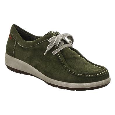 ara Women's Trista Fashion Sneaker, Olive Suede, ...