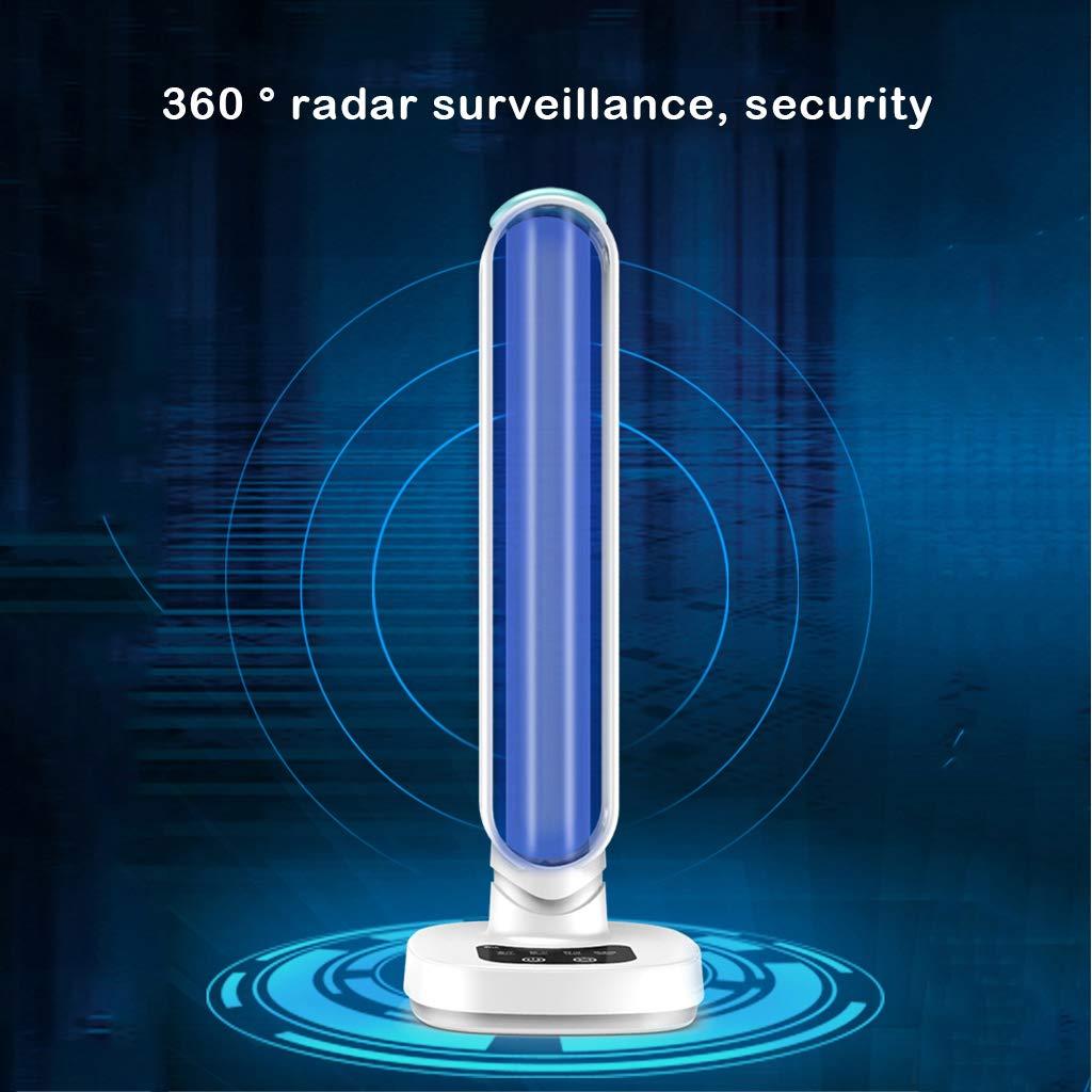 Purificatore dAria Lampada di Sterilizzazione per Ozono per Uso Domestico JW Lampada di Disinfezione UV con Rilevamento Radar Luce Filtrante per Formaldeide Purificatore dAria Remoto A Distanza