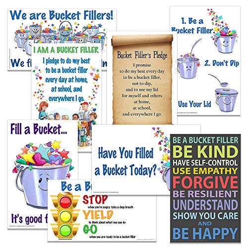 - Value Pack - Posters 1-4, 6, 11, 18, 20 by Bucket Fillers, Inc.