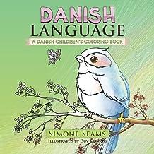 Danish Language: A Danish Children's Coloring Book