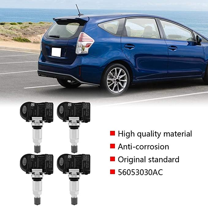 56053030AC 4 pcs Car TPMS Tire Pressure Monitoring Sensor for Mitsubishi Lancer Outlander Suuonee Tire Pressure Sensor