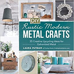 diy rustic modern metal crafts 35 creative upcycling ideas for
