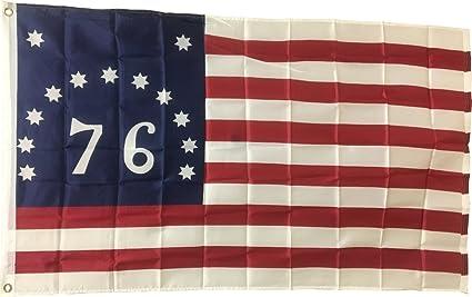 1c2f837935dc Amazon.com   New 3x5 Bennington (76) Flag American Revolution Flags ...