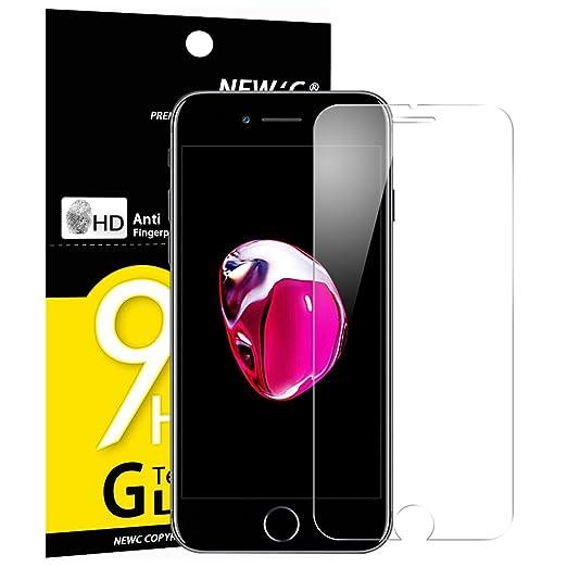 18 opinioni per Vetro Temperato iPhone 7, Pellicola Protettiva NEW'C® in Vetro Temperato Screen