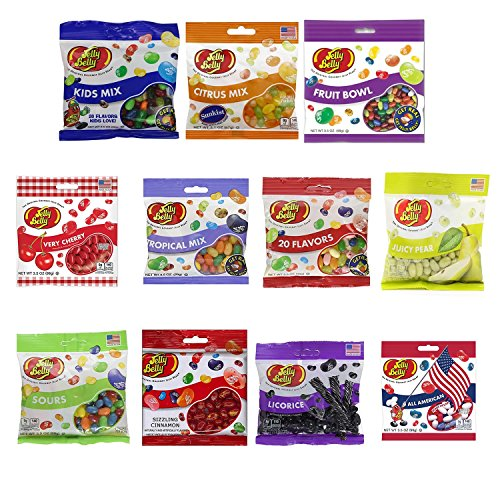 Grab & Go Jelly Belly Assorted Flavors - 11 different bags
