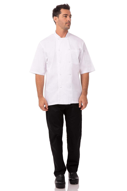 negra X-Small 1 2XL blanco Chef Works JLCV-BLK Chaqueta de chef