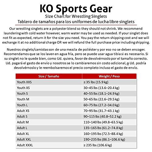 KO Sports Gear THE PINK ARROW Wrestling Singlet