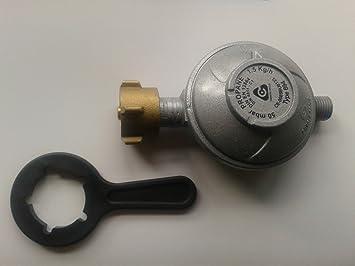 Herramienta para hornillos de gas (regulación del gas propano o butano, 50 mbar,