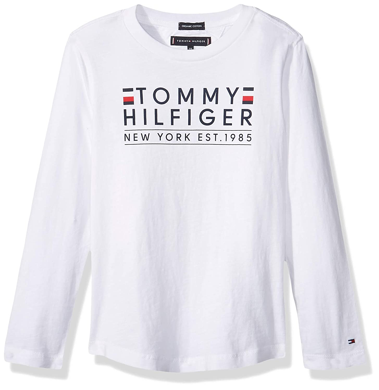 Tommy Hilfiger KB0KB04277 Tshirt Kinder Weiss 10A: