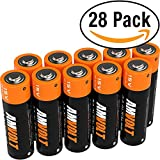 #8: 28 Pack AA Batteries [Ultra Power] Premium Double A LR6 Alkaline Battery - 1.5 Volt Bulk Batteries for Clocks Remotes Games Controllers Toys & Electronic Devices - 2020 Expiry Date