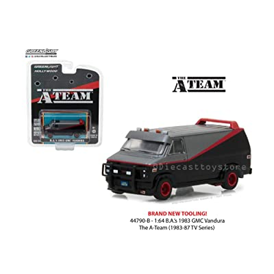Greenlight 44790B 1:64 Hollywood Series 19-The a-Team-1983 Gmc Vandura Die Cast Vehicle: Toys & Games