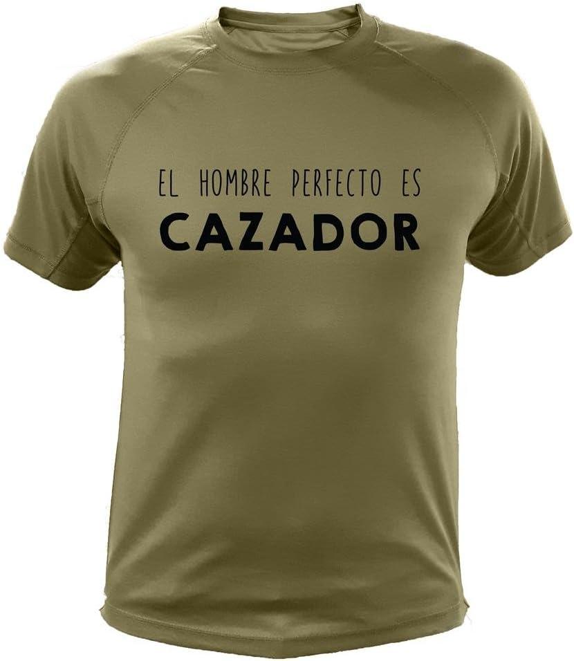 Camiseta de Caza, El Hombre Cazador - Ideas Regalos: Amazon.es: Deportes y aire libre