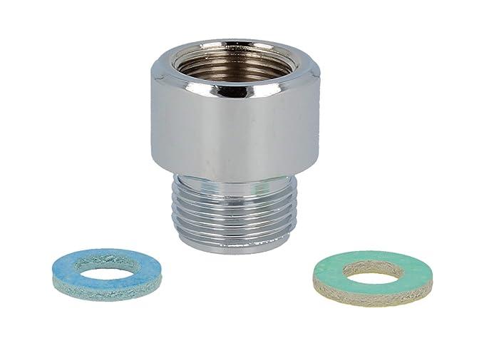 Metall Brauseschlauch 2 m; 1//2; 3//8; 3//4 Zoll M15; Metallschlauch Duschschlauch