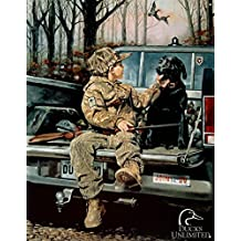 Ducks Unlimited Forever Friends Tin Sign - 13x16