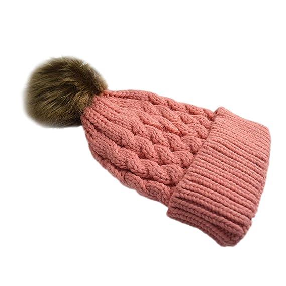 Leisial Sombrero de Invierno para Mujeres Caliente Gorro de Punto Invierno  Tejido Casquillo Sombrero del Esquí Trenzado  Amazon.es  Ropa y accesorios ae02f0bebdb