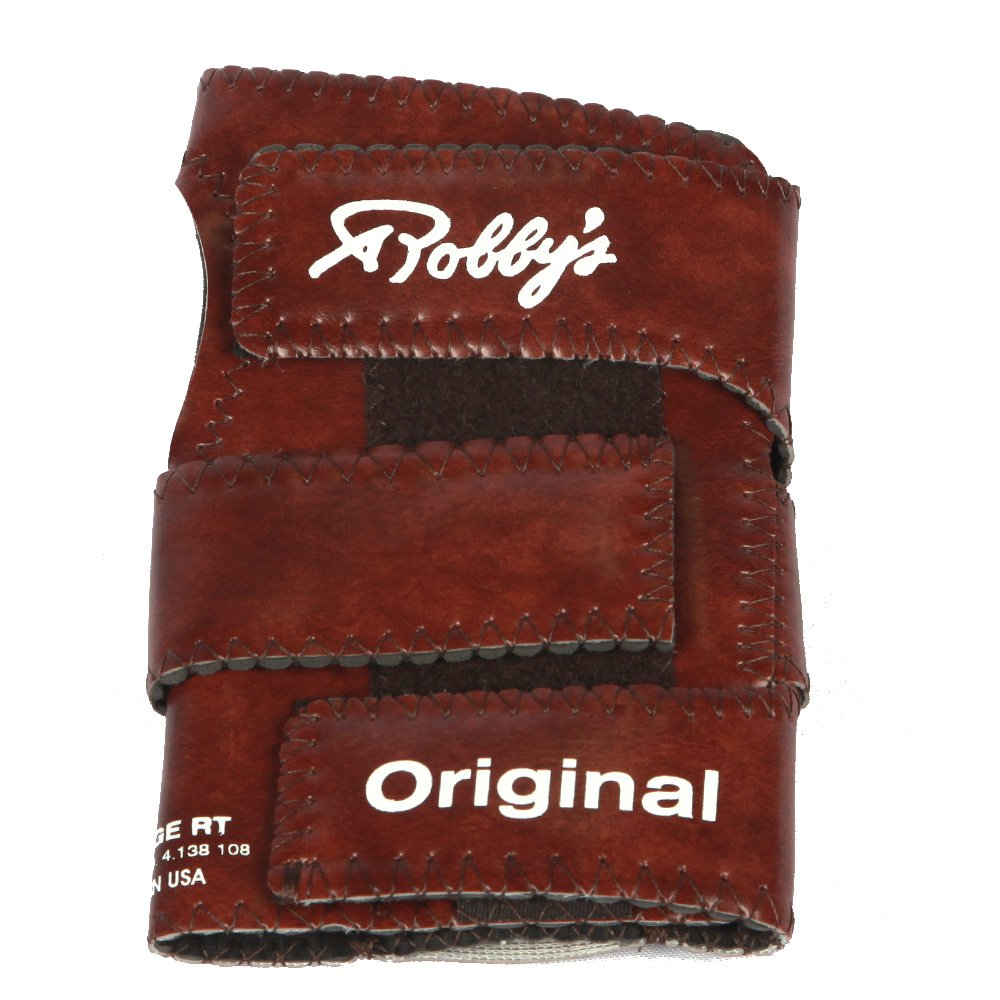 Robby's Vinyl Original Left Wrist Support, Brown, Large by Robby's