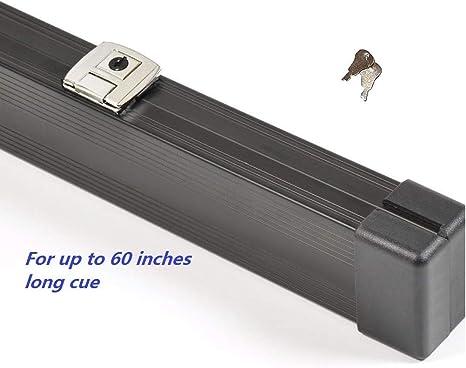 Dunns-cues Snooker - Funda para Taco de Billar (Aluminio, 152,4 cm, 2 Compartimentos): Amazon.es: Deportes y aire libre