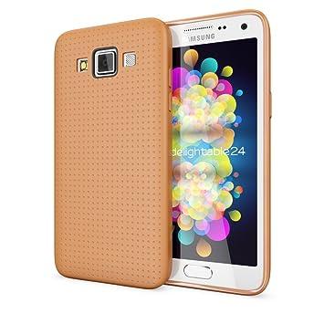 NALIA Funda Carcasa Compatible con Samsung Galaxy A5 2015, Protectora Movil Silicona Fina Bumper Estuche con Puntos, Goma Cubierta Telefono Cobertura ...