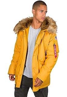 Alpha Industries Men's Polar Jacket Sv: Amazon.co.uk: Clothing