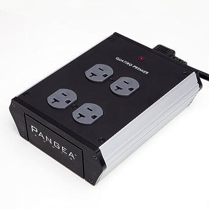 Pangea Audio Quattro - 4 Outlet Power Center (Premier)