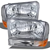 99 superduty headlights - Ford Excursion F250 F350 F450 Superduty OE Replacement Headlights Driver/Passenger Lamps Pair