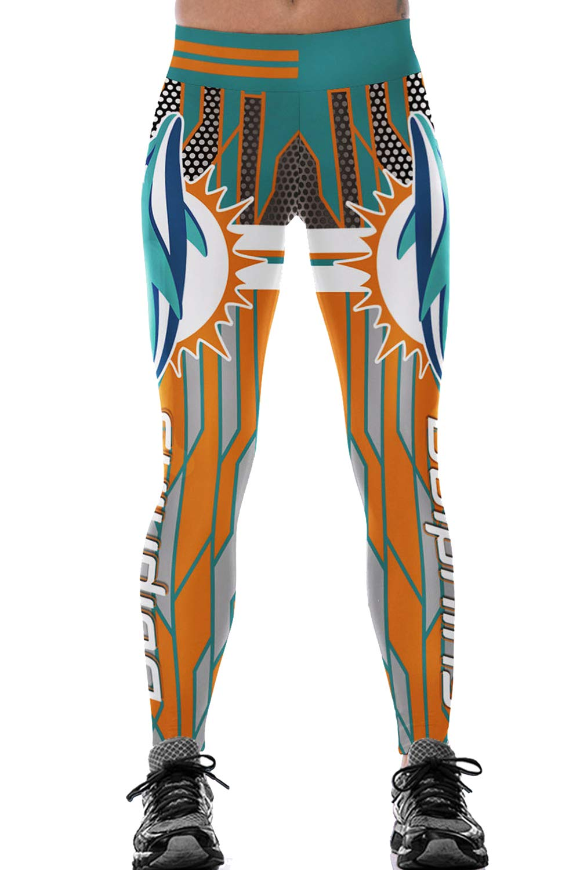 Timemory Women's Digital Print Pants Stretchy Ankle Elastic Tights Leggings