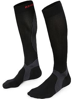 3a71ba1e7 Azani Elite Compression Socks for Men & Women (20-30 mmhg) Best Graduated
