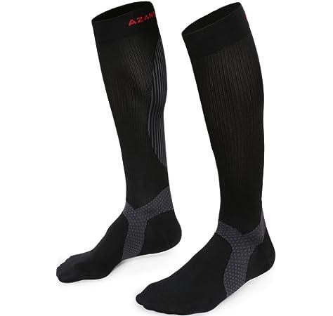 2dba7fb325 Azani Elite Compression Socks for Men & Women (20-30 mmhg) Best Graduated