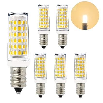ENUOTEK Lamparas Bombillas de Bajo Consumo de LED Casquillo Pequeño E14 11W Luz Calida 3000K El Más Brillante 1000Lm Que Bombilla Halogena ...
