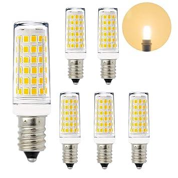 Lamparas Bombillas de Bajo Consumo de LED Casquillo Pequeño E14 11W Luz Calida 3000K El Más Brillante 1000Lm que Bombilla Halogena Incandescente de 60W Lot ...