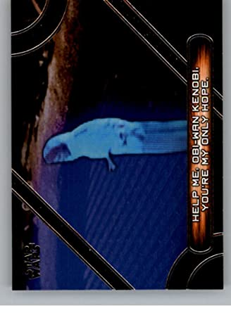 2017 Topps Star Wars Galactic Files Reborn Famous Movie Quotes Mq