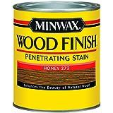 Minwax 700494444 Wood Finish Interior Penetrating Stain, Quart, Honey